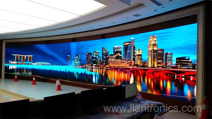 Fine-Pitch LED Display