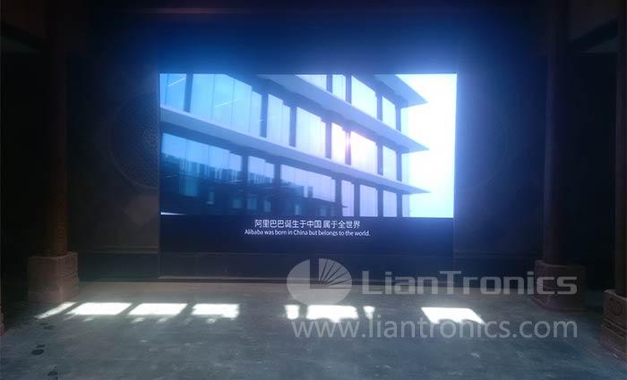 Pantalla LED de interior para Alibaba