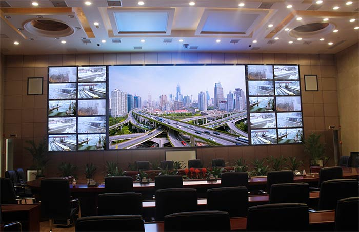 HD LED display for a district government