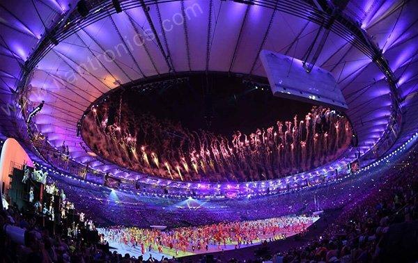 オリンピック led