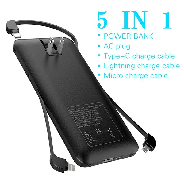 10000mah Power bank with ac outlet from gift guide Heloideo