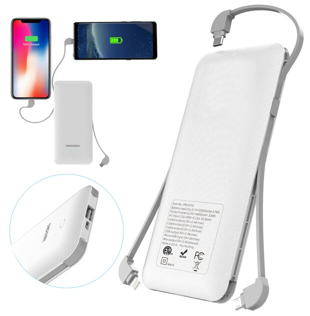 HELOIDEO five in one power bank
