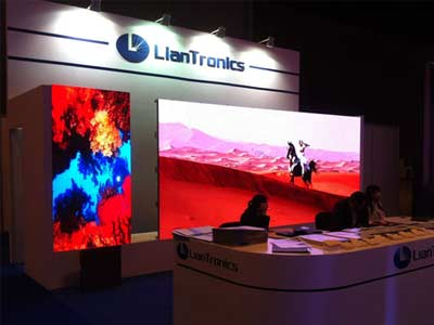 LianTronics——a Shining Star of the Expo PALME Middle East 2014