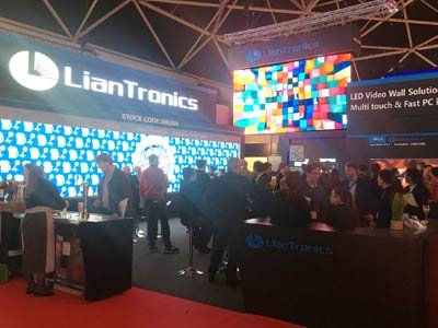 LianTronics Fine-Pitch VA Series & RE Series First Debut at ISE2018