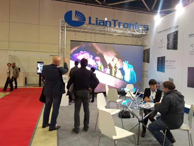ISE—— A Grand Opening Exhibition of LianTronics