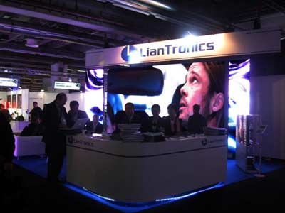 LianTronics comes shining in Prolight + Sound Exhibition!