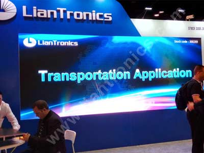 LianTronics V1.9 Surprised the Attendees by Terrific Image at InfoComm 2015