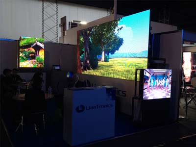 LianTronics Performs perfectly in LED EXPO PERU 2014