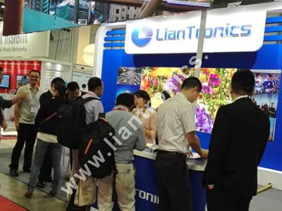 Communic Asia 2015 Witnessed the Superiority of LianTronics V1.9 and R3Ⅱ