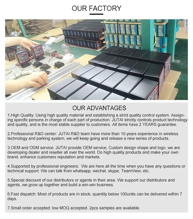 Shenzhen Jutai Comm Co., Ltd. is een hightech particuliere onderneming die het onderzoek & integreert ontwikkeling, productie en verkoop. We concentreren ons op beveiligingsproducten R & D en systeemintegratie. De RFID-kaartsysteemoplossing van deurtoegangscontrole, parkeerbeheersysteem, RFID-liftcontrolesysteem, moet werkelijkheid worden. Jutai richt zich op toepassingen voor persoons- en voertuigidentificatie en toegangscontrole. Jutai levert ook RFID-technologie en componenten voor OEM-fabrikanten en integrators. Jutai is een ISO9001: 2008 gecertificeerd bedrijf. ISO9001: 2008 stelt de minimumvereisten die we van onszelf en ook van onze geselecteerde onderaannemers verwachten. Hoge kwaliteit door de hele toeleveringsketen in elk proces zorgt voor foutloze producten en resulteert in klanttevredenheid.Ontwikkelingsgeschiedenis: Ons bedrijf is gebouwd in een voormalig ontwikkelingsbedrijf, dat werd opgericht in 2005, voornamelijk verantwoordelijk voor de interne controle van het draadloze communicatieproduct R & D en verkoop. Met meer dan 10 jaar rijke ervaring op het gebied van draadloos en frequentiegebied, hebben we met succes onderzoek gedaan naar het waterpompbesturingssysteem op afstand, het verlichtingscontrolesysteem op afstand, het GPS-positiesysteem, de babybedcontroller, het draadloze Bluetooth-audiosysteem, het verkeerslicht city-net controlesysteem, rookcontrolesysteem, 125K-lezer, lusdetector enzovoort. Na de hervorming zijn we nu gespecialiseerd in het langeafstandsfrequentieveld van RFID.