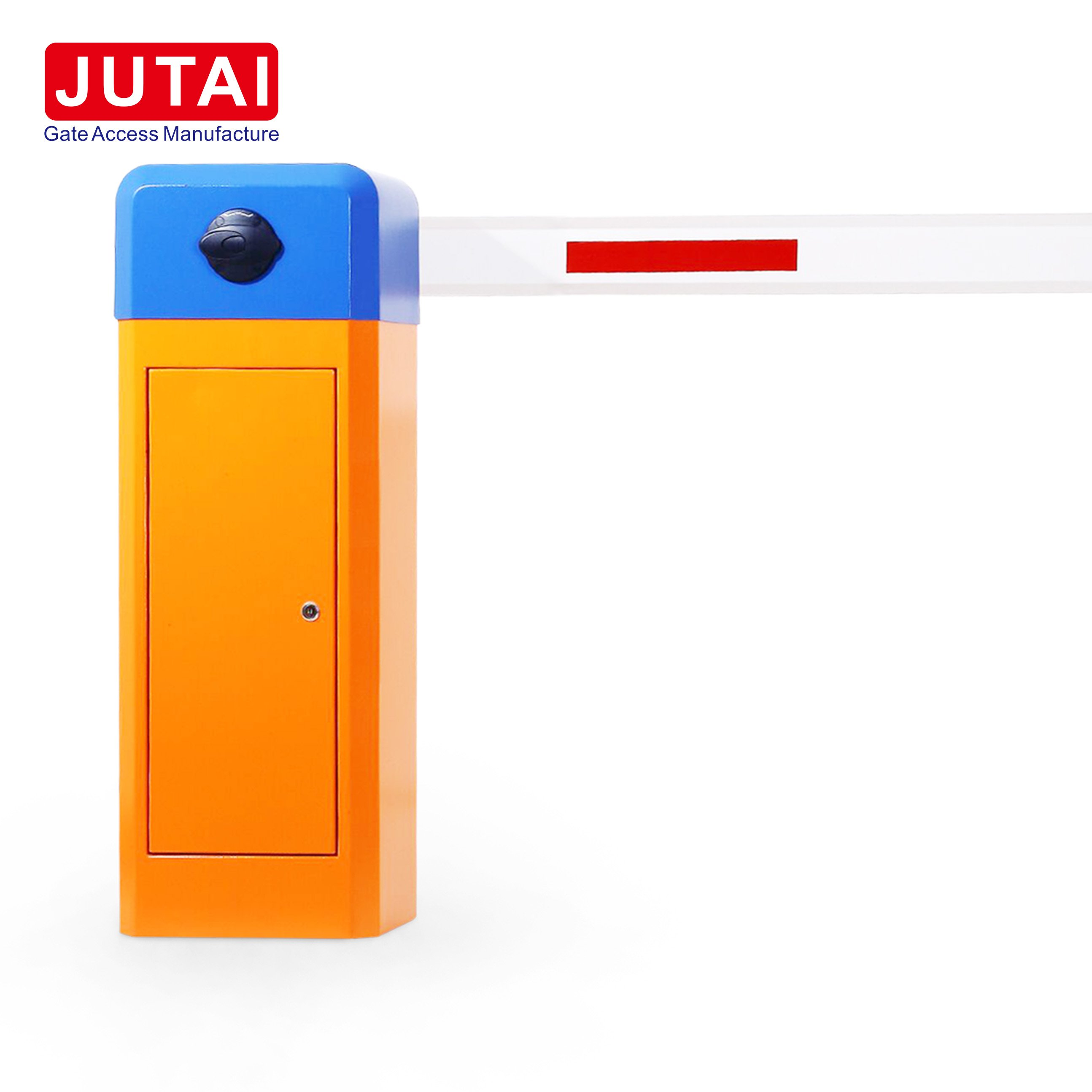 JUTAI Intelligent Barrier Gate Access Used Loop Detector to Automatic Close