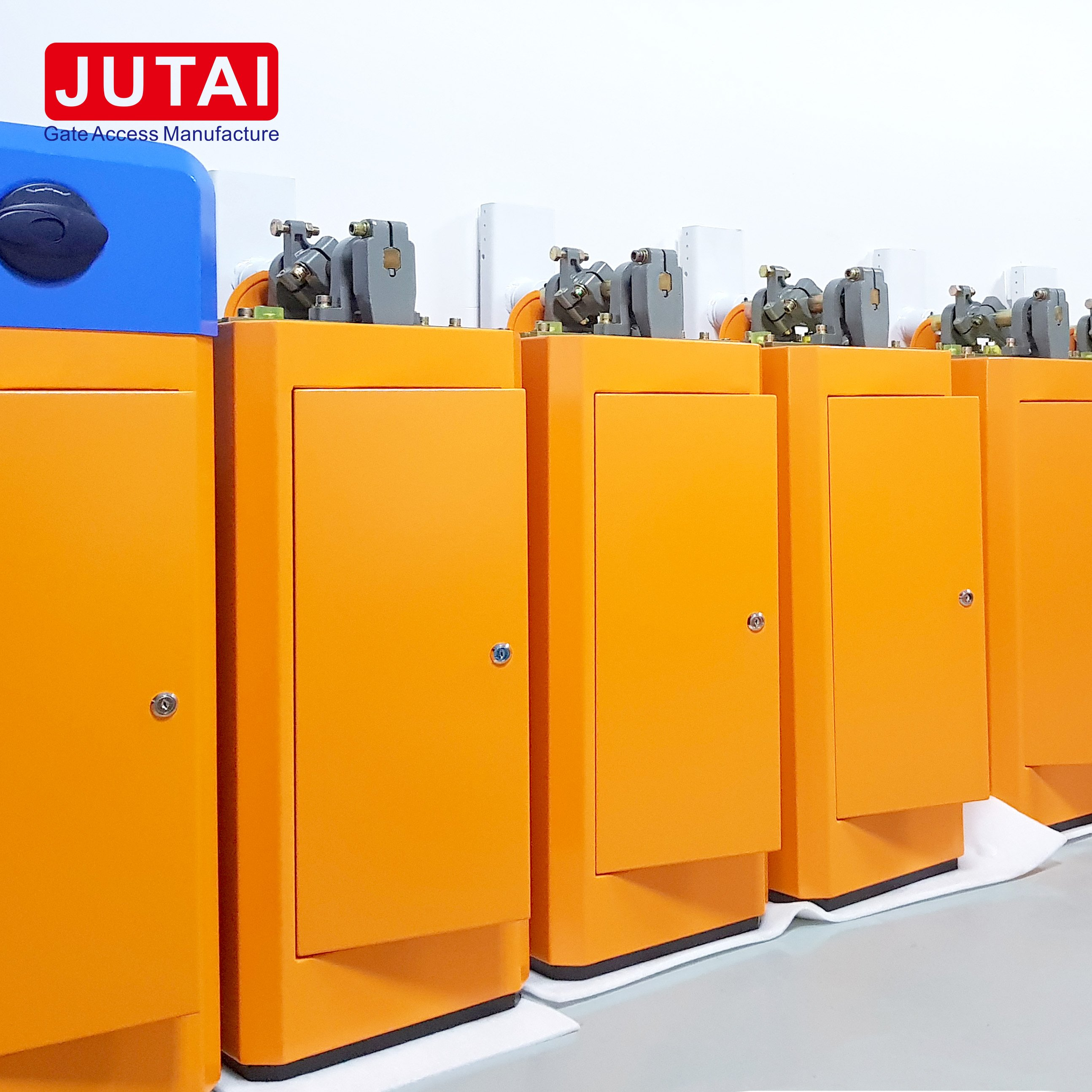 JUTAI Parking Barrier Gate Access with Long Range RFID Reader Open Automatic