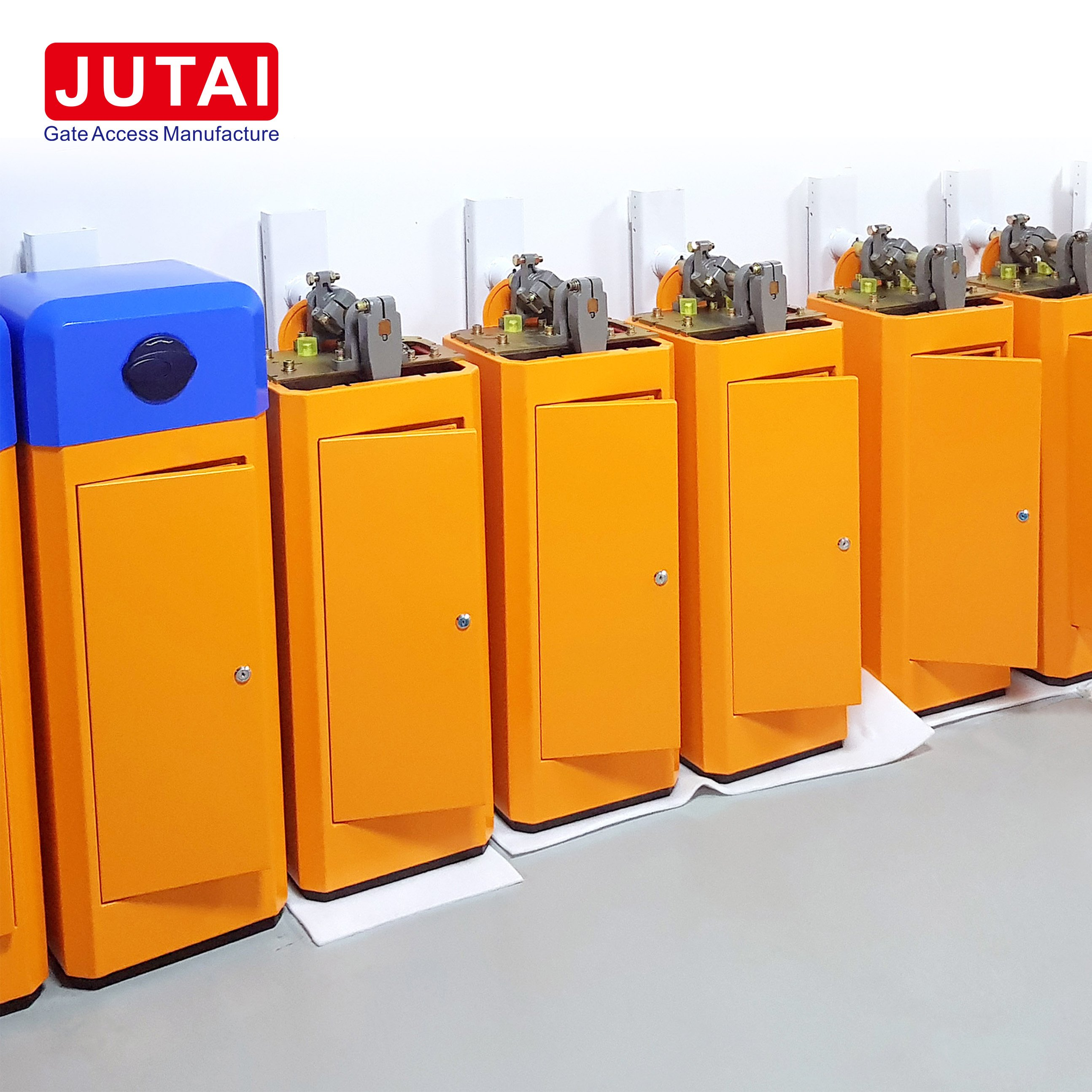 Gate Access Barrier Gate Operator JUTAI Support Parking Barrier Gate Solution