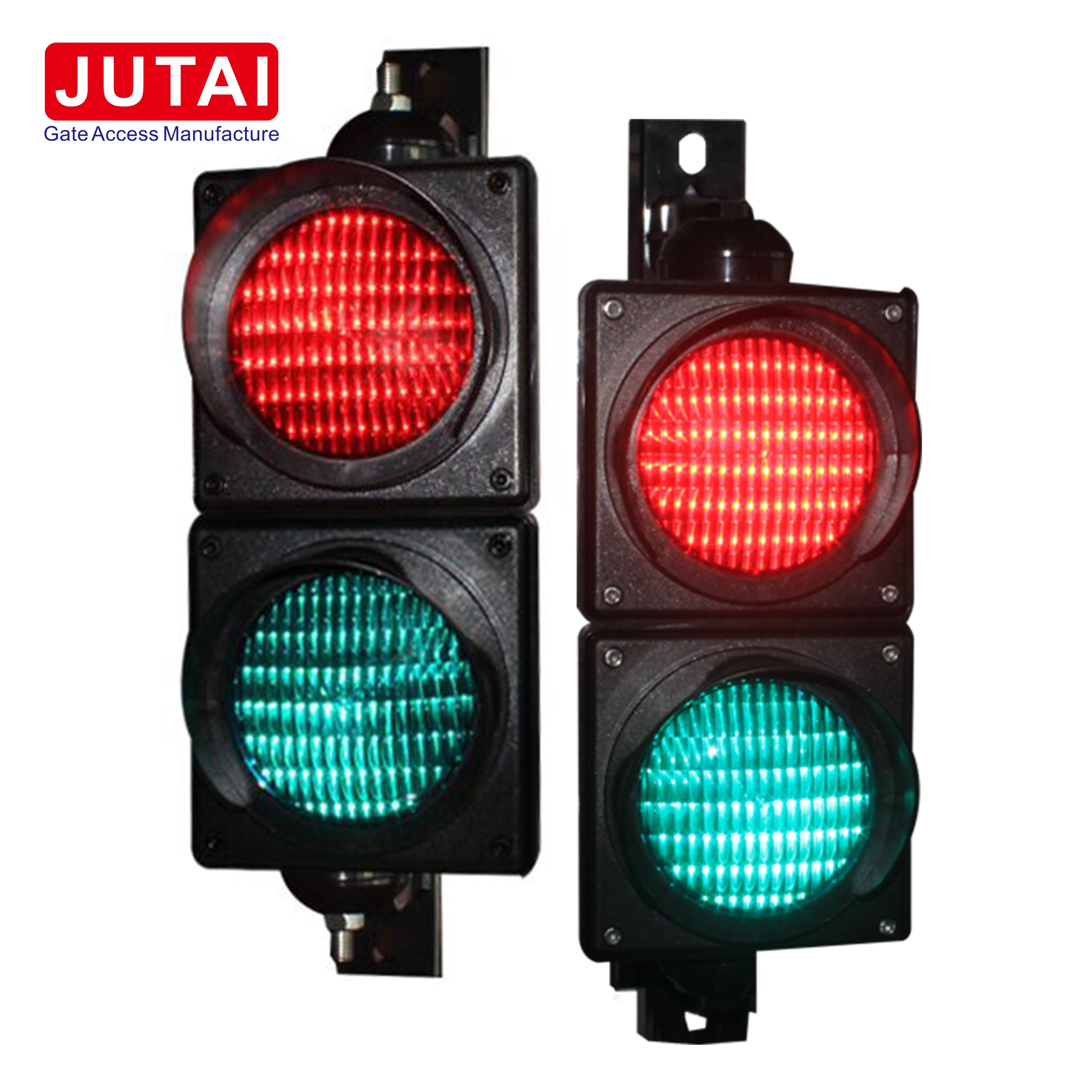 100mm Traffic Light For Parking Lot Vehicle Access Gate Operator Control