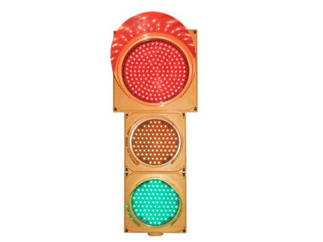 clear cover traffic signal light