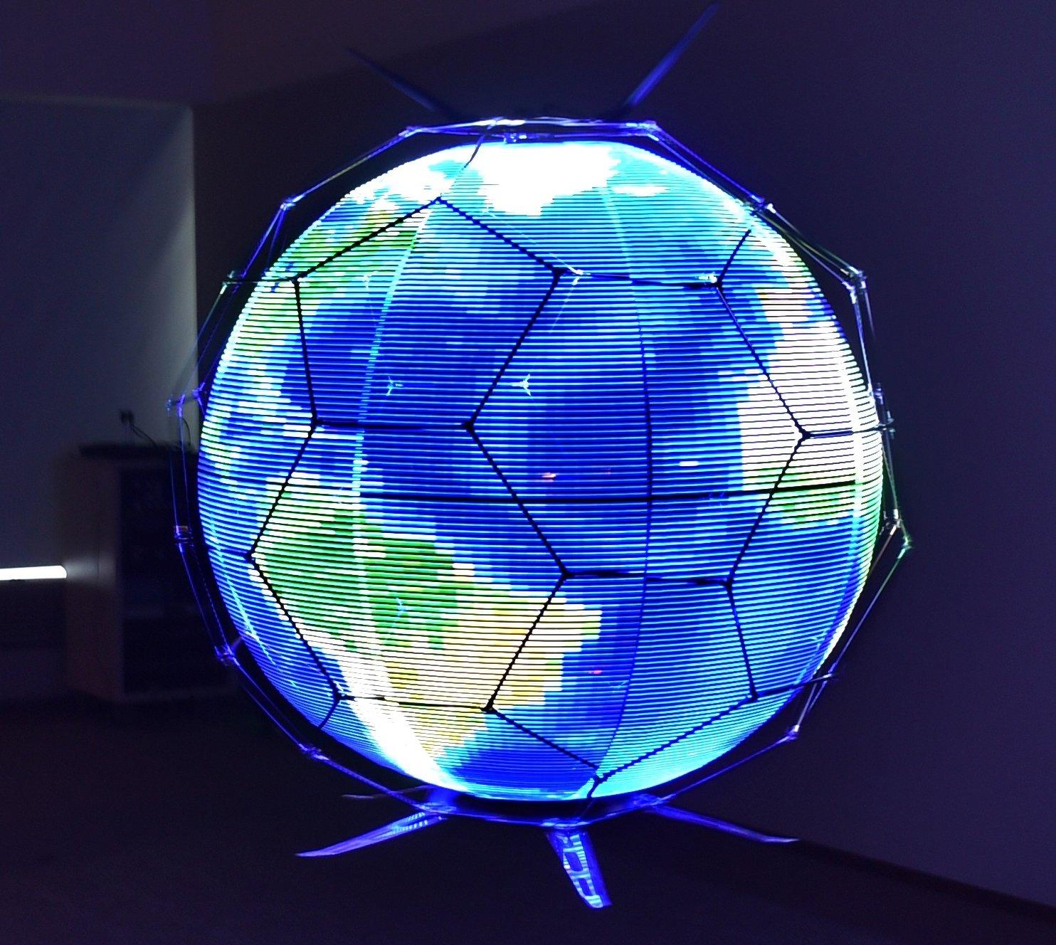 Светодиодная сфера