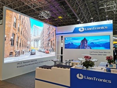 LianTronics Fine-pitch LED Solution Shown at Inter BEE 2019
