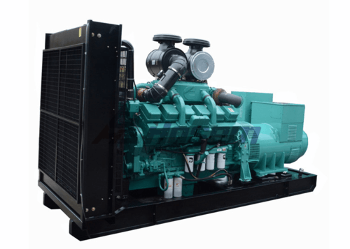 1000kVA Diesel Generator Powered by Cummins Engine KTA38-G5 Three Phase , 400 / 230V