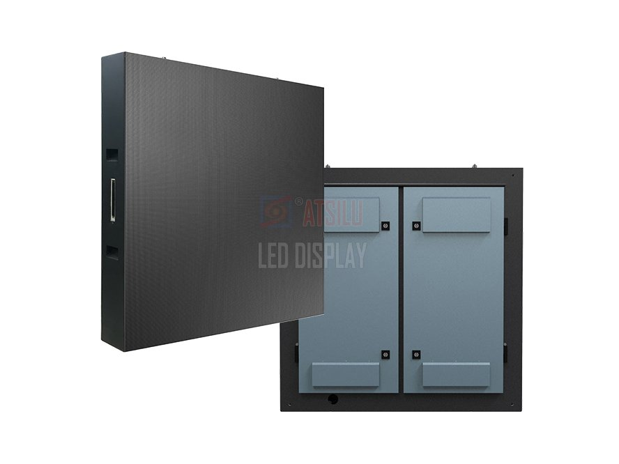 1000mmx1000mm LED Display Panel Indoor and Outdoor P3.9/P4.8/P10.4 Fixed Installation LED Cabinet