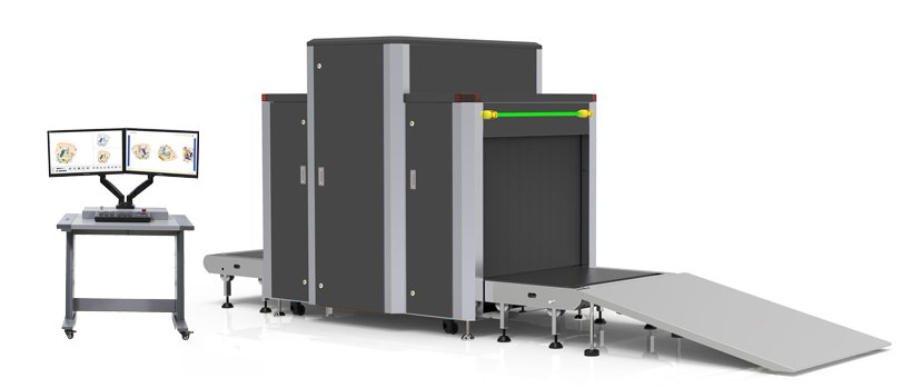 X-ray baggage scanner HP-SE10080