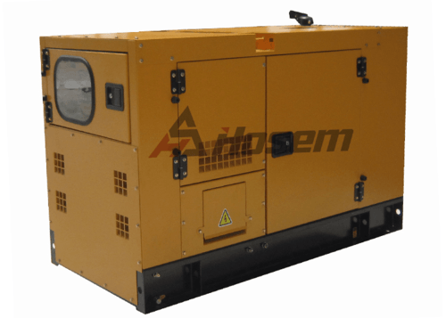 Emergency Backup Generator 100kVA with Deutz Diesel Engine , Soundproof Generator