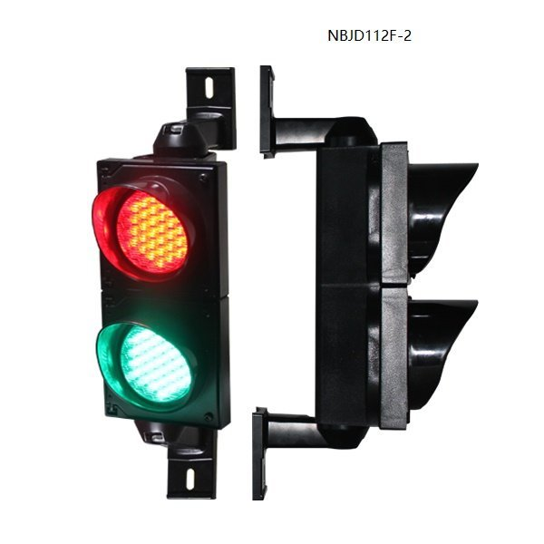 100mm Red-Green Traffic Signal Light With 2 Years Quality Warranty