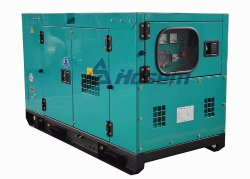 Low Noise Diesel Generator with Perkins Diesel Engine Model 403A-15G1 Rate Output 10kW / 12.5kVA