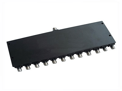 12 Way Power Divider with SMA Female Connectors From 600MHz to 3000MHz Rate at 10 Watt