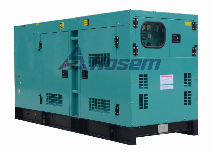 Diesel Generator with Soundproof Canopy