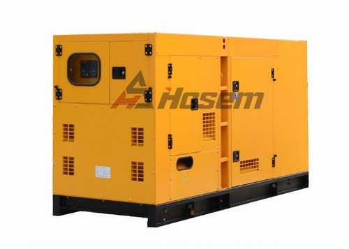 Super Quiet Generator Rate Output 150kVA / 120kW, Standby Output 165kVA / 132kW