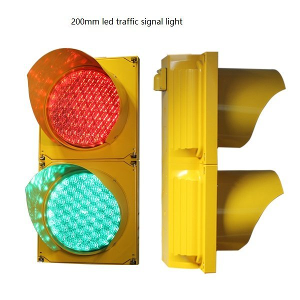 200mm LED Traffic Signal Light With IP65 Waterproof Traffic Light