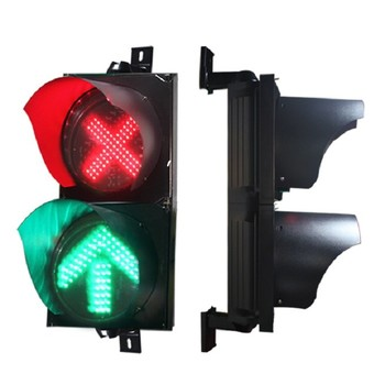 200mm Red Cross Green Arrow With Hot Sale  Traffic Signal.