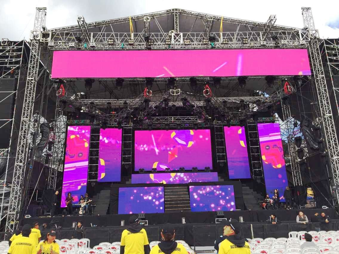 Outdoor Rental LED Display P5.95 Video Led Wall