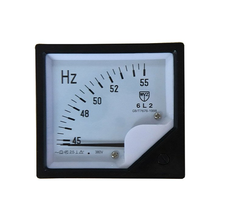380V Digital 6L2 Frequency Meter Hz Pointer Meter