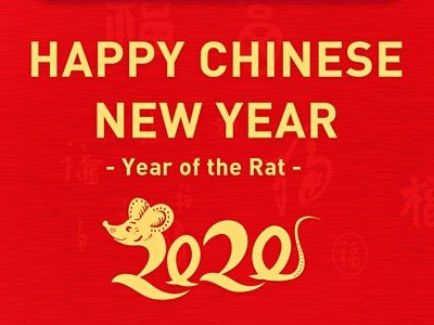 HOLIDAY NOTICE FOR 2020 CHINESE NEW YEAR