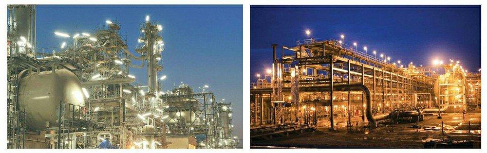 luz led à prova de explosão para indústria de petróleo