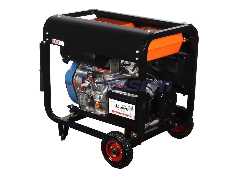 Luchtgekoelde dieselgenerator 3KW, 5KW, 6KW, 7KW voor huis