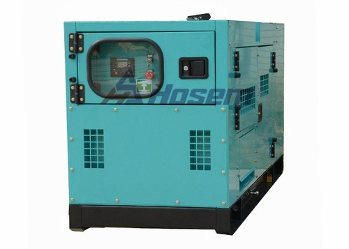 Industrial Generator with Cummins Engine Model 4BT3.9-G1 Leroy Somer Alternator Rate Output 30kVA
