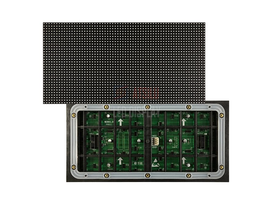 320mmx160mm LED-displaymodule Binnen of buiten P5mm / P6mm / P6.6mm / P8mm / P10mm LED-modules