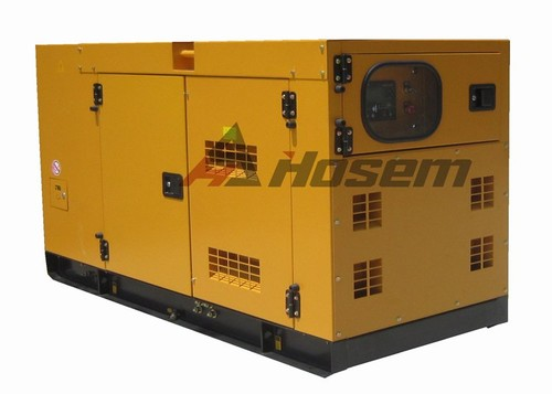 Diesel Generating Rate Output 38kVA with Cummins Diesel Engine Model 4BT3.9-G2 For Home