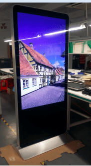 49 inch floor-standing digital signage with FHD resolution hot sale style