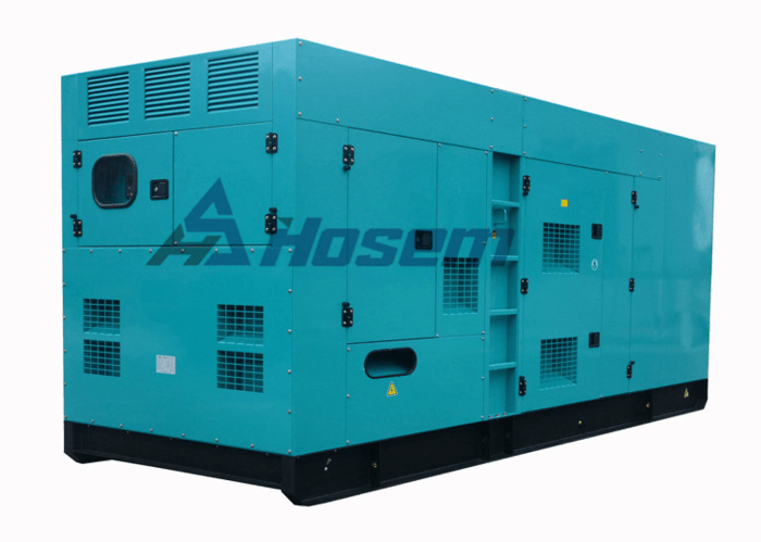 Diesel Generator Room Noise Reduction Solution