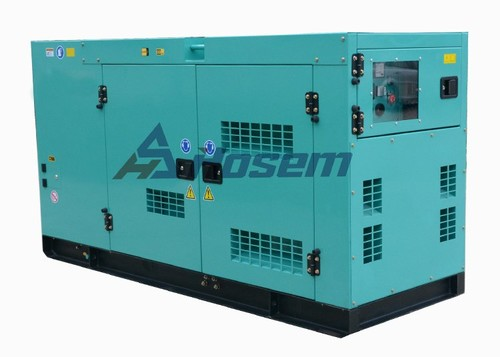 Silent Diesel Generator with Cummins Diesel Engine Model 4BTA3.9-G2 Rate Output 50kVA for Building