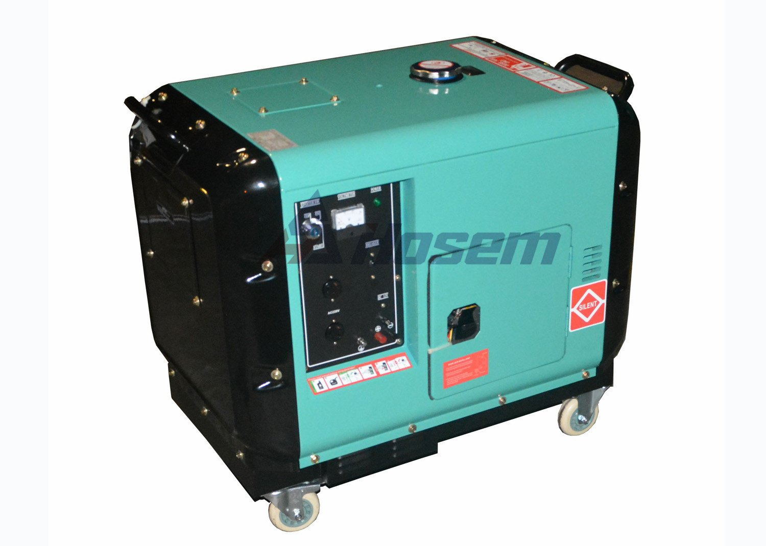 5kVA Silent Diesel Generator with Air-cooled diesel engine