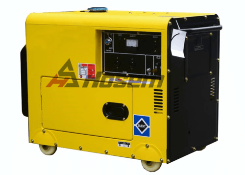 Silent Diesel Generator with Air-cooled Type 2.7kVA to 11kVA