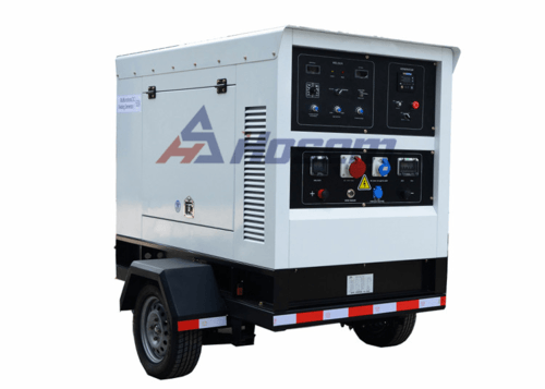 Mobile Generator 65kVA with Perkins Diesel Engine 1104A-44TG1 For Rental , Trailer Generator