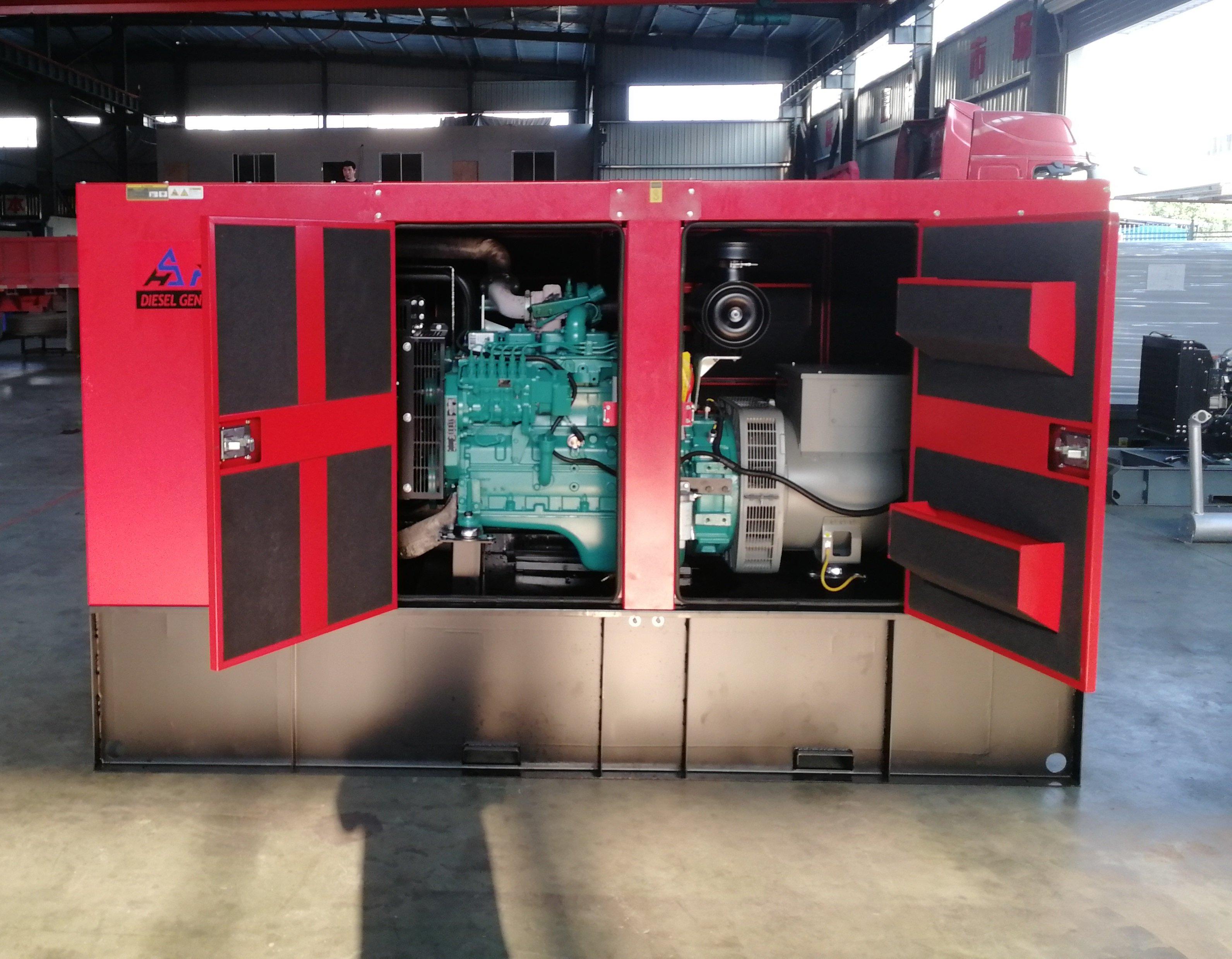 เครื่องยนต์ดีเซล 6BT5. 9-G2 สำหรับเครื่องกำเนิดไฟฟ้าดีเซล 100kVA