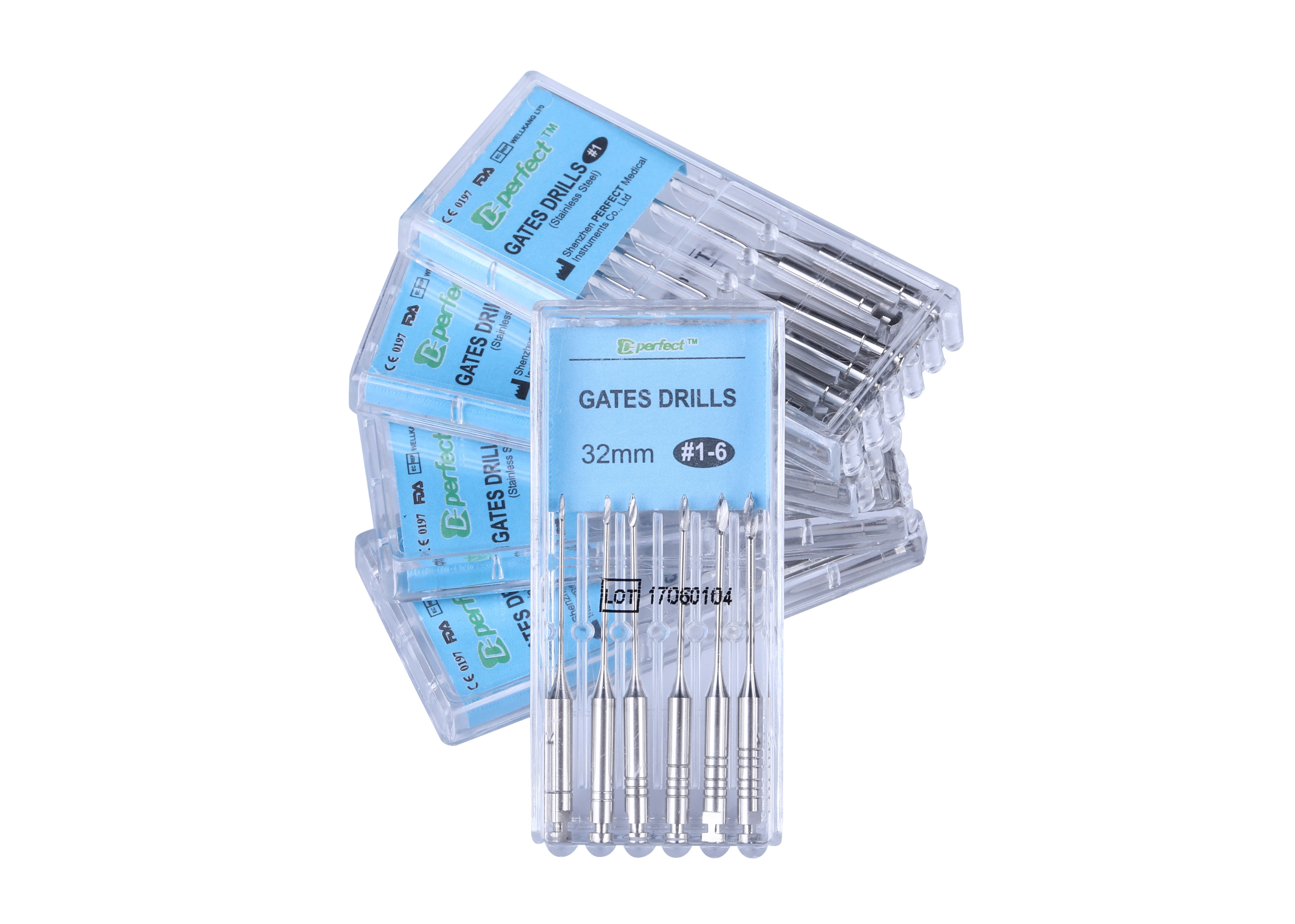 Gates Drills Assorted Size For Root Canal Preparation
