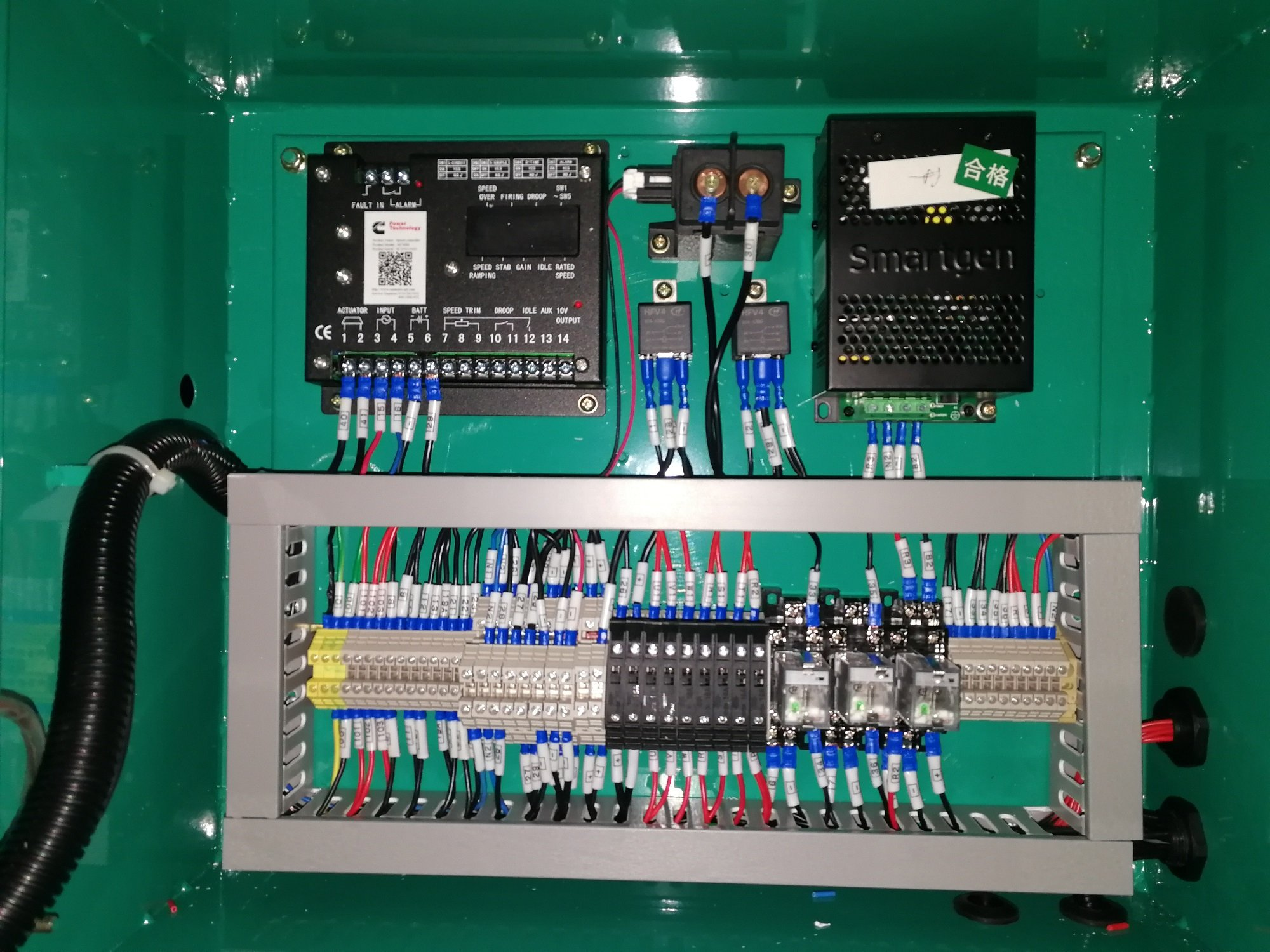 800kVA Control Panel Connection for 800kVA Cummins Generator