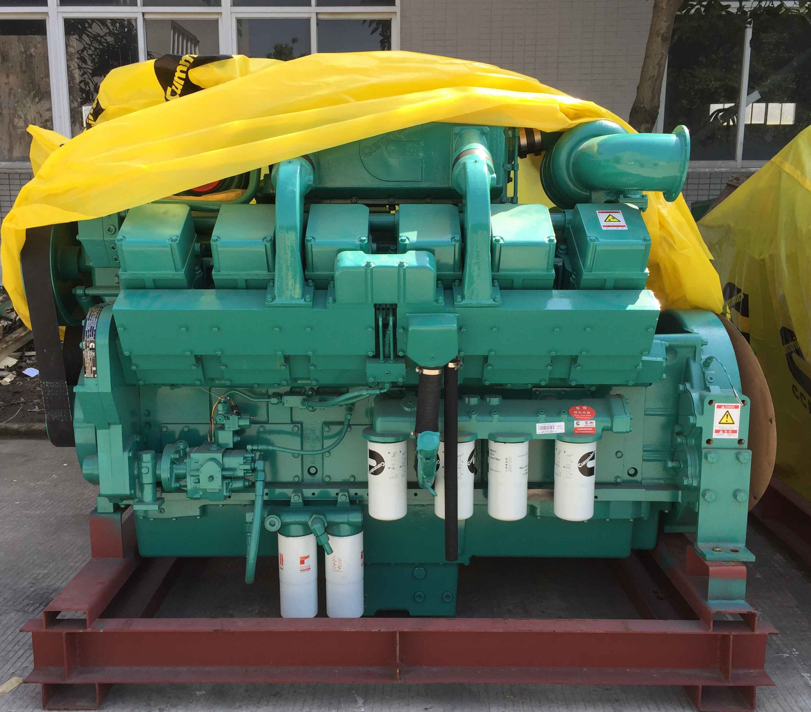 Cummins Diesel Engine KTA38-G2B For 800kVA Cummins Generator